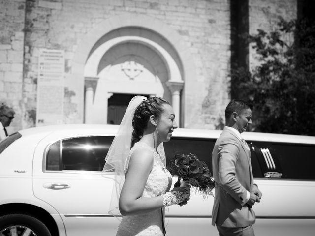 Le mariage de Jonathan et Ludivine à Goudargues, Gard 2