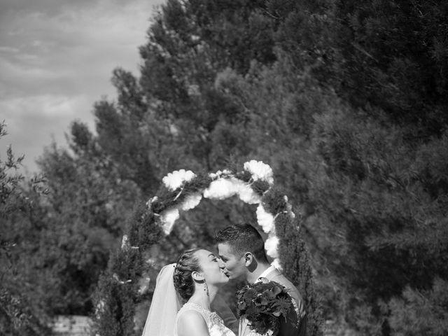 Le mariage de Jonathan et Ludivine à Goudargues, Gard 10