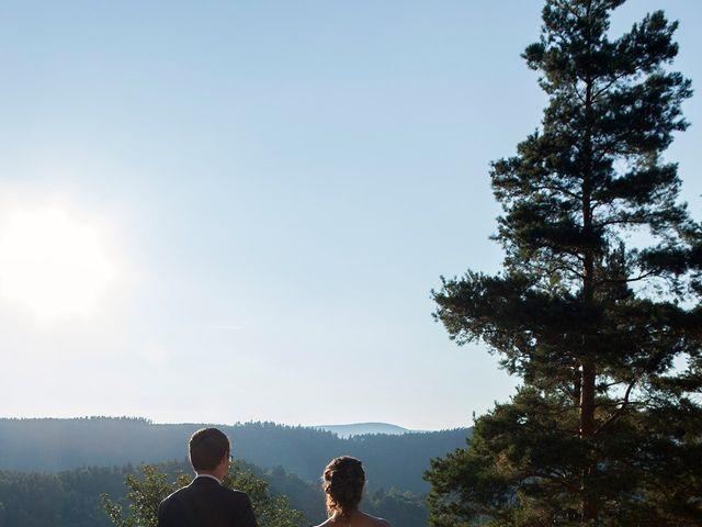 Le mariage de Aurélien et Léa à Orbey, Haut Rhin 10