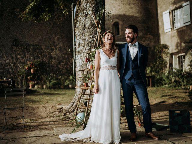 Le mariage de Mathieu et Marianne à Lyas, Ardèche 9