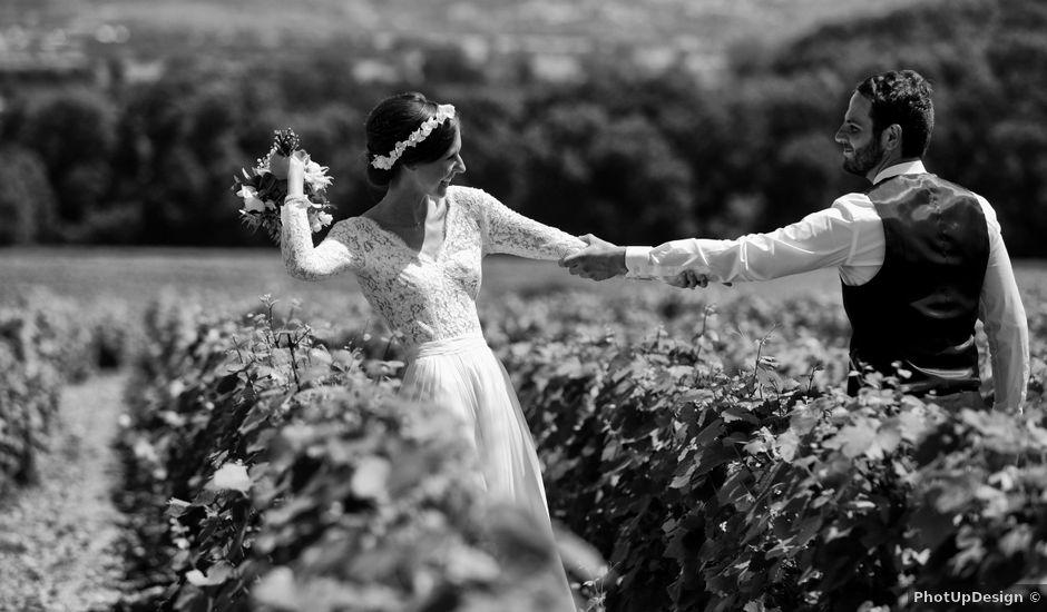 Le mariage de Benoit et Mathilde à Villié-Morgon, Rhône