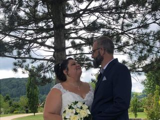 Le mariage de Stéphanie  et Claudey 1