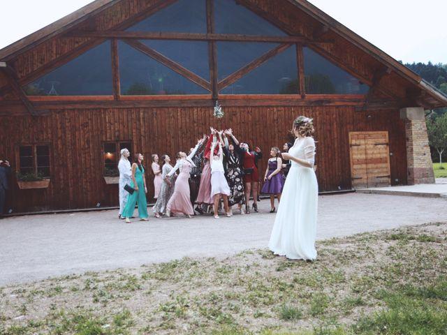 Le mariage de Romain et Noémie à Wisches, Bas Rhin 42