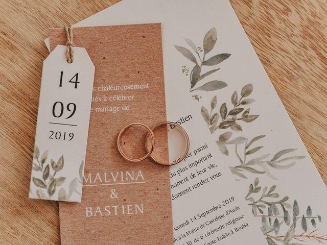 Le mariage de Bastien et Malvina à Castelnau-d'Aude, Aude 1