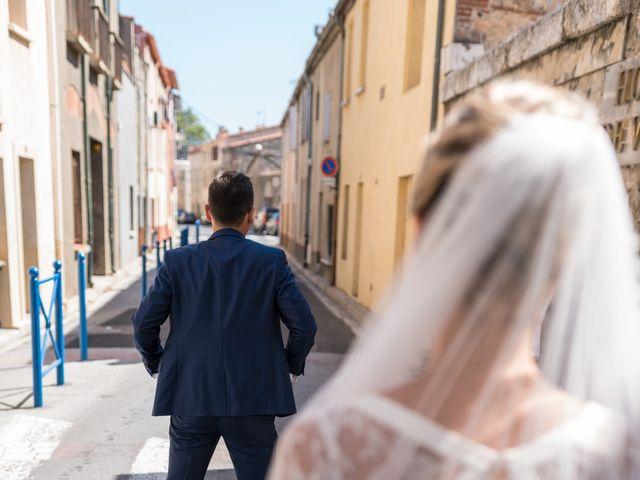Le mariage de Bérenger et Marine à Ortaffa, Pyrénées-Orientales 29