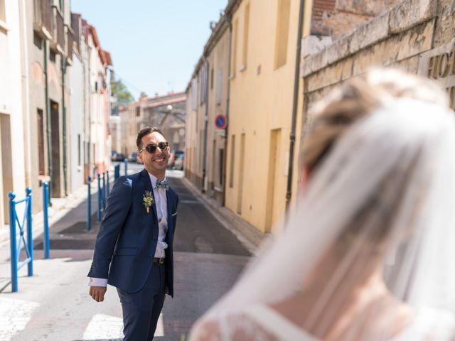 Le mariage de Bérenger et Marine à Ortaffa, Pyrénées-Orientales 30