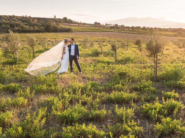 Le mariage de Bérenger et Marine à Ortaffa, Pyrénées-Orientales 52