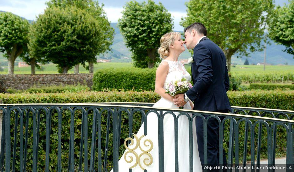 Le mariage de Cyril et Nadège à Saint-Étienne-la-Varenne, Rhône
