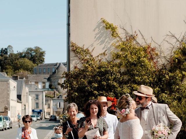 Le mariage de Anthony et Fanny à Montsûrs, Mayenne 14