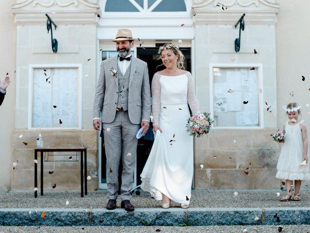 Le mariage de Anthony et Fanny à Montsûrs, Mayenne 22