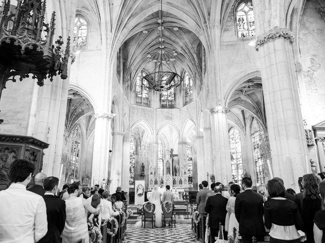Le mariage de Alexandre et Marion à Fresneaux-Montchevreuil, Oise 15