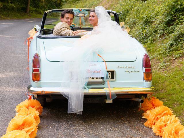 Le mariage de Alexandre et Marion à Fresneaux-Montchevreuil, Oise 20
