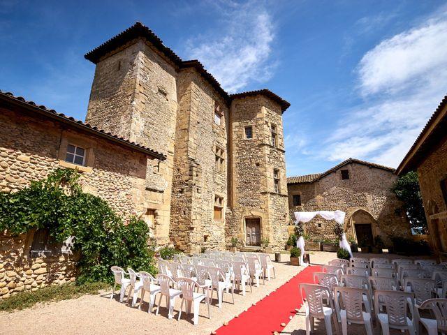 Le mariage de Jacob et Myriam à Épinouze, Drôme 3