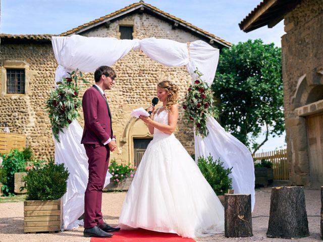 Le mariage de Jacob et Myriam à Épinouze, Drôme 9