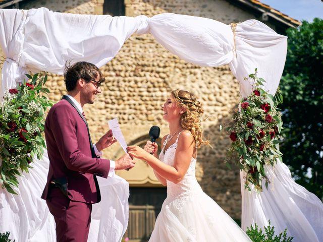 Le mariage de Jacob et Myriam à Épinouze, Drôme 10