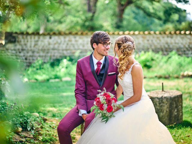Le mariage de Jacob et Myriam à Épinouze, Drôme 13