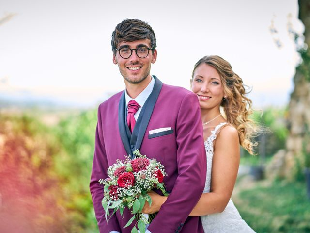 Le mariage de Jacob et Myriam à Épinouze, Drôme 20