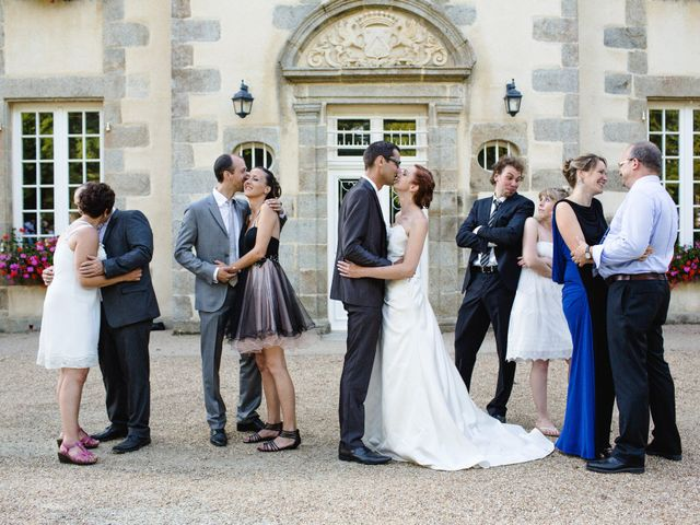 Le mariage de Olivier et Julie à Cossé-le-Vivien, Mayenne 55