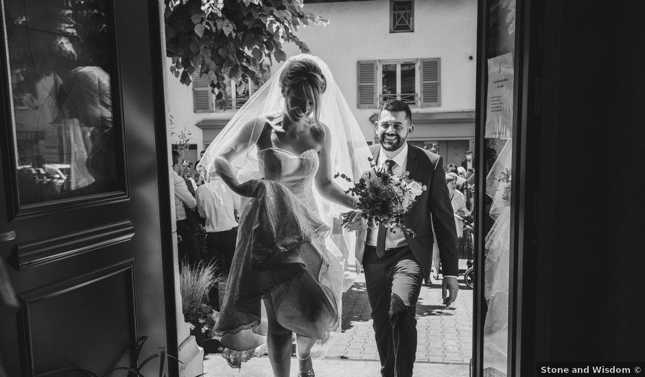 Le mariage de Julien et Emilie à Fareins, Ain