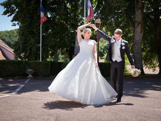Le mariage de Nicolas et Charlotte à Leimbach, Haut Rhin 5