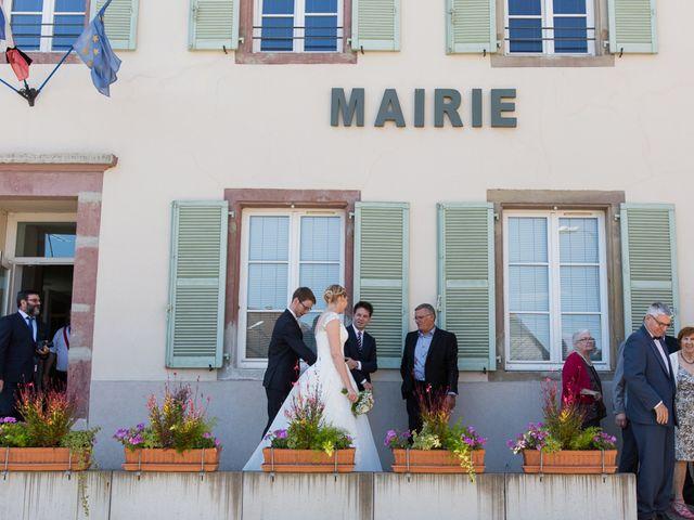 Le mariage de Nicolas et Charlotte à Leimbach, Haut Rhin 13