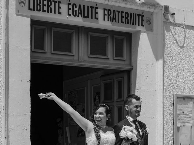 Le mariage de Jérémy et Aurélie à Brioux-sur-Boutonne, Deux-Sèvres 9