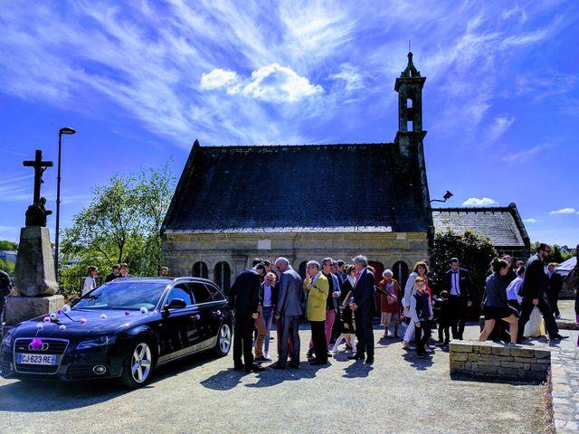 Le mariage de Camille-Alexandra et Jean-Christophe à Bourg-Blanc, Finistère 6