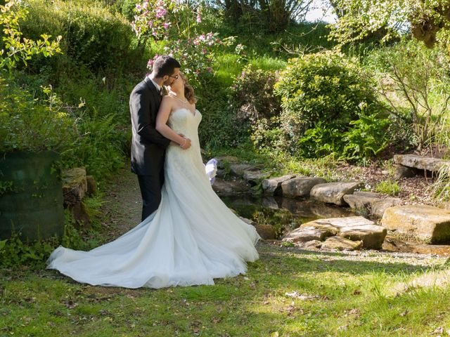 Le mariage de Camille-Alexandra et Jean-Christophe à Bourg-Blanc, Finistère 2