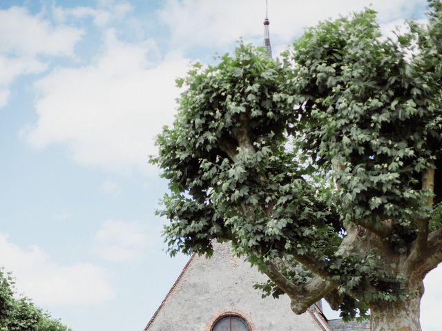 Le mariage de Felix et Faustine à Chaumont-sur-Tharonne, Loir-et-Cher 9