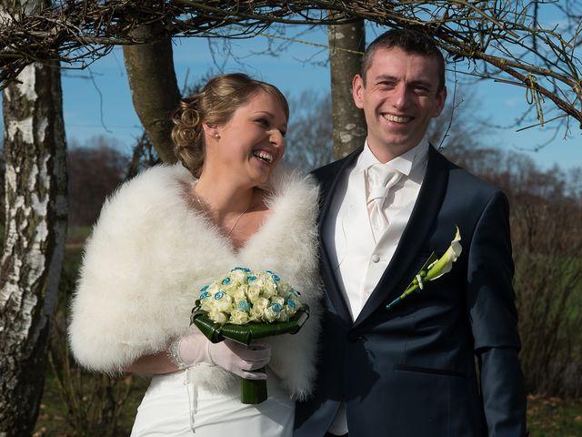 Le mariage de Damien et Morgane à Wolfersdorf, Haut Rhin 9