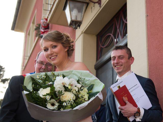 Le mariage de Damien et Morgane à Wolfersdorf, Haut Rhin 17