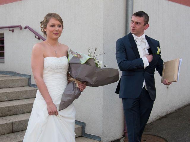 Le mariage de Damien et Morgane à Wolfersdorf, Haut Rhin 18