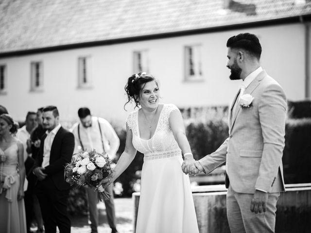 Le mariage de Justin et Marie à Neugartheim-Ittlenheim, Bas Rhin 10