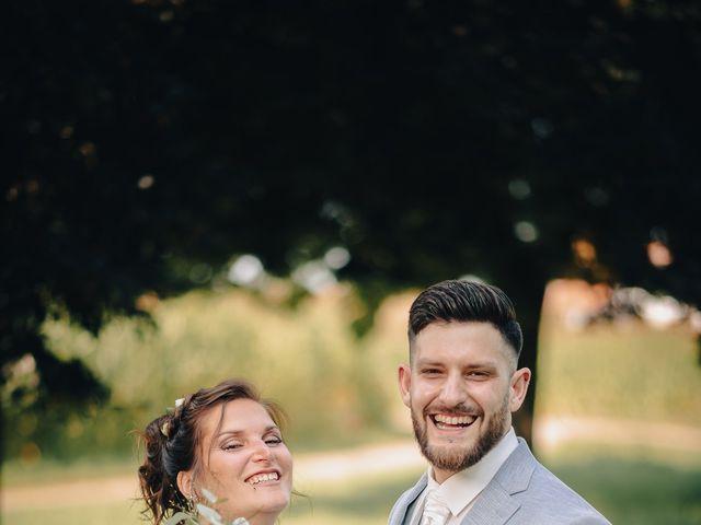 Le mariage de Justin et Marie à Neugartheim-Ittlenheim, Bas Rhin 12