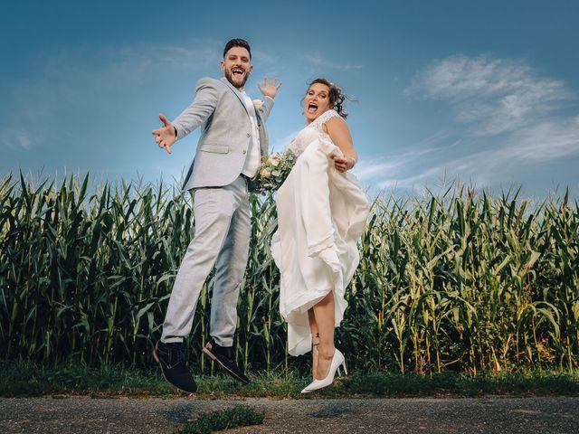 Le mariage de Justin et Marie à Neugartheim-Ittlenheim, Bas Rhin 15