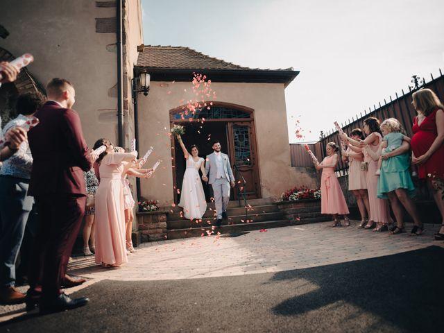Le mariage de Justin et Marie à Neugartheim-Ittlenheim, Bas Rhin 18