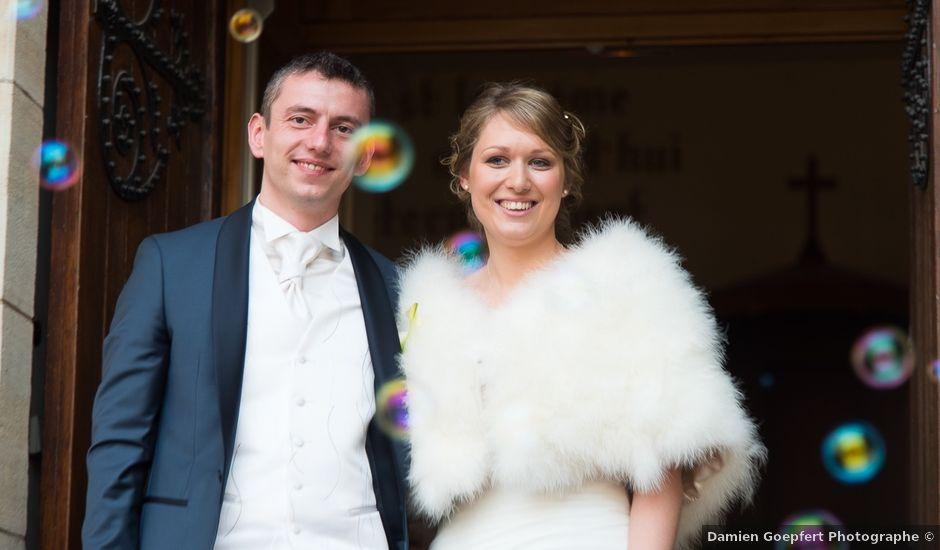 Le mariage de Damien et Morgane à Wolfersdorf, Haut Rhin