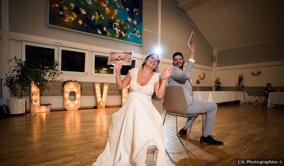 Le mariage de Justin et Marie à Neugartheim-Ittlenheim, Bas Rhin