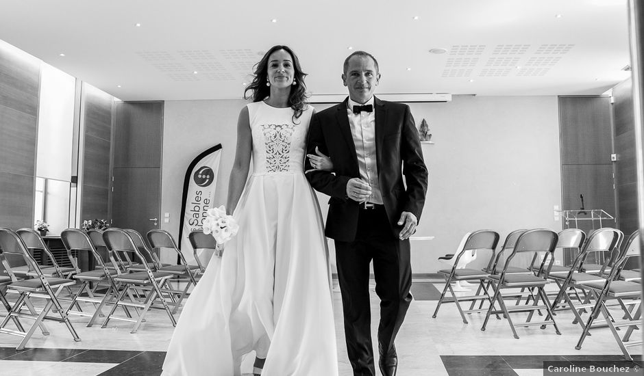 Le mariage de Gérald et Anaïs à Les Sables-d'Olonne, Vendée