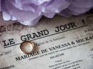 Le mariage de Vanessa et Mickael 1