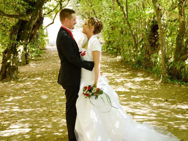 Le mariage de Xavier et Dorine à Saint-Étienne-des-Oullières, Rhône 1