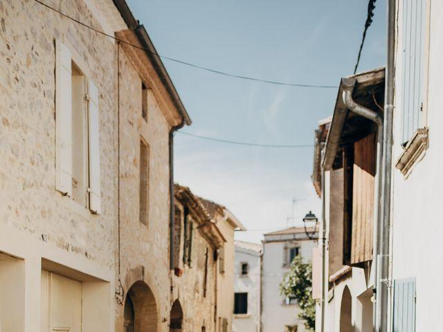 Le mariage de Gautier et Caroline à Rochefort-du-Gard, Gard 43