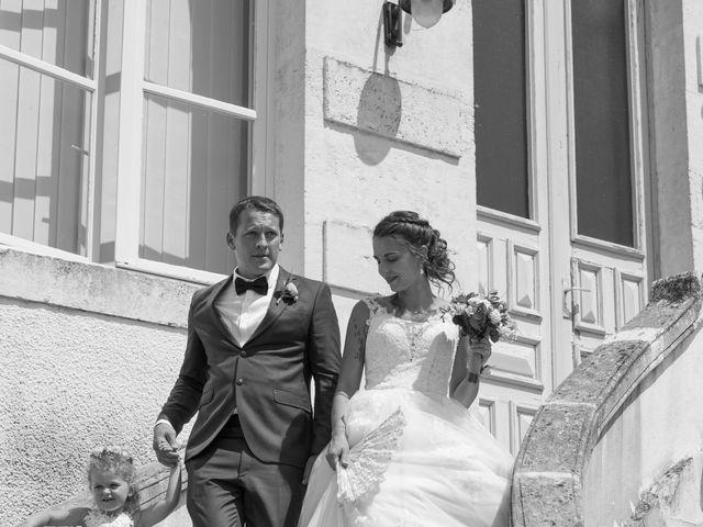 Le mariage de David et Agathe à Chizé, Deux-Sèvres 60