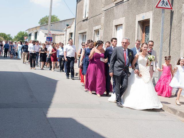 Le mariage de David et Agathe à Chizé, Deux-Sèvres 61