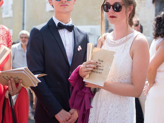 Le mariage de David et Agathe à Chizé, Deux-Sèvres 75