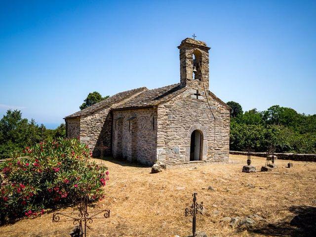 Le mariage de Thomas et Louise à Valle-di-Campoloro, Corse 9