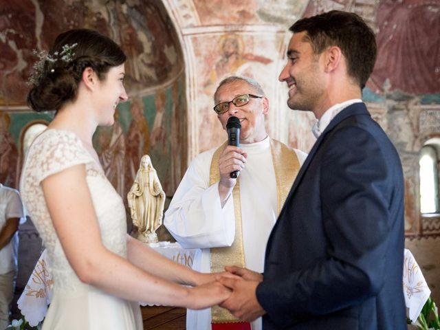 Le mariage de Thomas et Louise à Valle-di-Campoloro, Corse 12