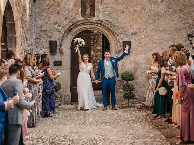 Le mariage de Jonh et Alexia à Les Arcs, Var 76