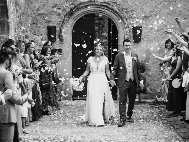 Le mariage de Jonh et Alexia à Les Arcs, Var 77