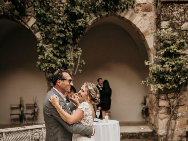 Le mariage de Jonh et Alexia à Les Arcs, Var 89